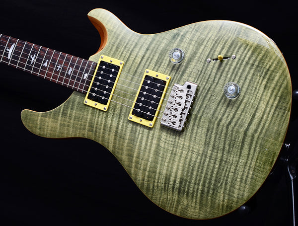 Paul Reed Smith SE Custom 24 Trampas Green-Electric Guitars-Brian's Guitars