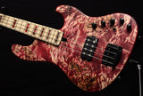 Used Mayones Jabba Custom 4 NAMM 2020 Red Velvet Antique Raw-Electric Guitars-Brian's Guitars