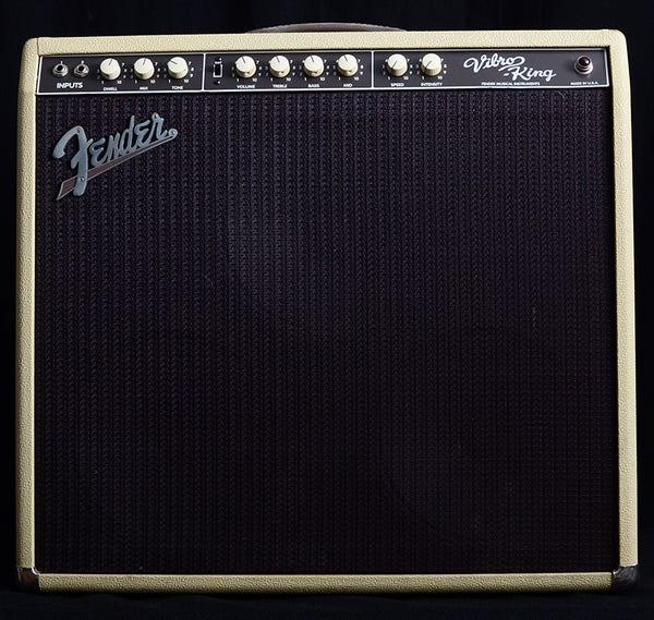 Used Fender Vibro King 60W 3x10 Tube Combo Amp