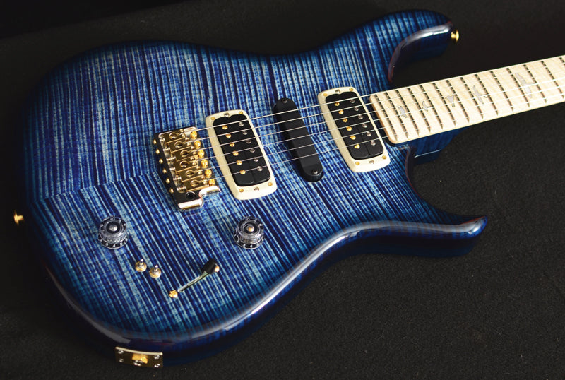 Used Paul Reed Smith Private Stock Brent Mason Faded Indigo Smokeburst-Brian's Guitars