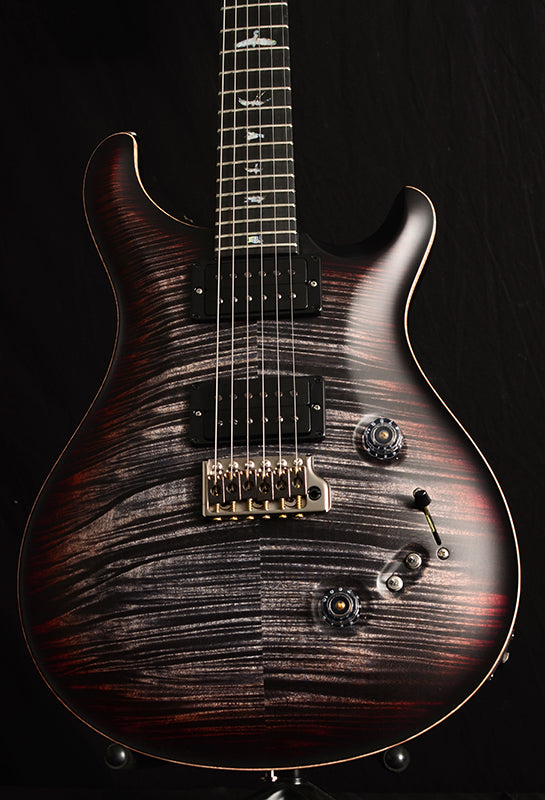 Used Paul Reed Smith Wood Library Custom 24-08 Satin Brian's Limited Charcoal Tri Color Burst-Brian's Guitars