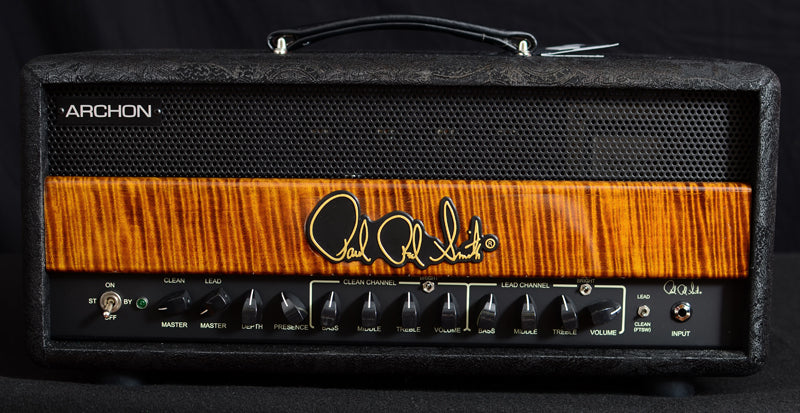 Paul Reed Smith Archon Black Paisley Limited Black Gold-Amplification-Brian's Guitars