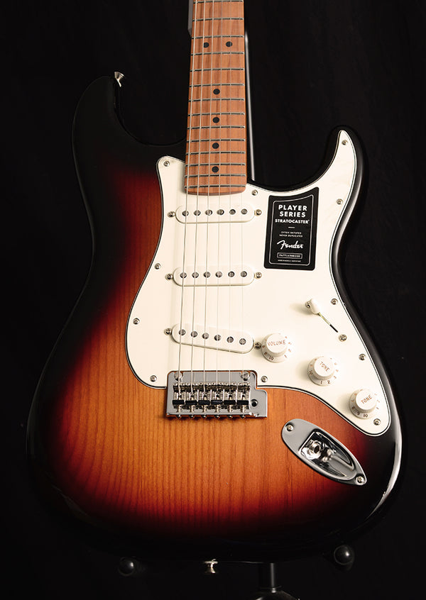 Fender Player Stratocaster Limited Edition Roasted Neck 3 Color Sunburst
