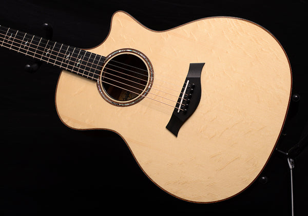 Taylor Custom GA Engelmann Bearclaw And Quilted Sapele