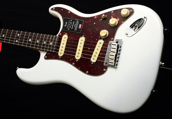 Fender American Ultra Stratocaster Arctic Pearl
