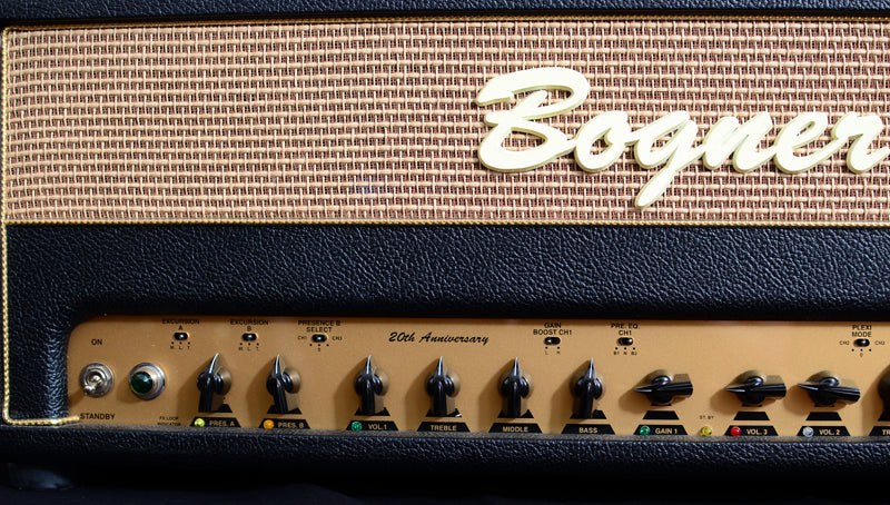 Used Bogner Ecstasy 101B 20th Anniversary Head-Brian's Guitars