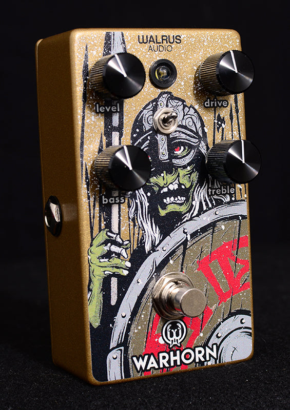 Walrus Audio Warhorn Overdrive Zombie Limited-Effects Pedals-Brian's Guitars