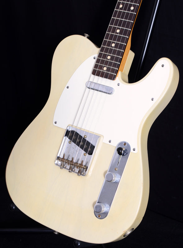 Used Fender Custom Shop '59 Telecaster Relic Faded Vintage Blonde-Brian's Guitars