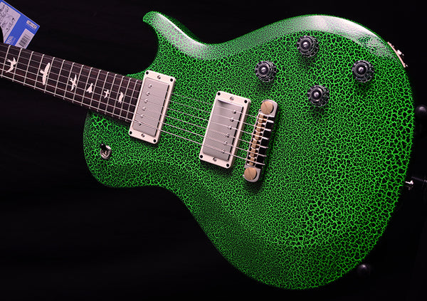 Paul Reed Smith S2 Singlecut Emerald Crackle-Electric Guitars-Brian's Guitars