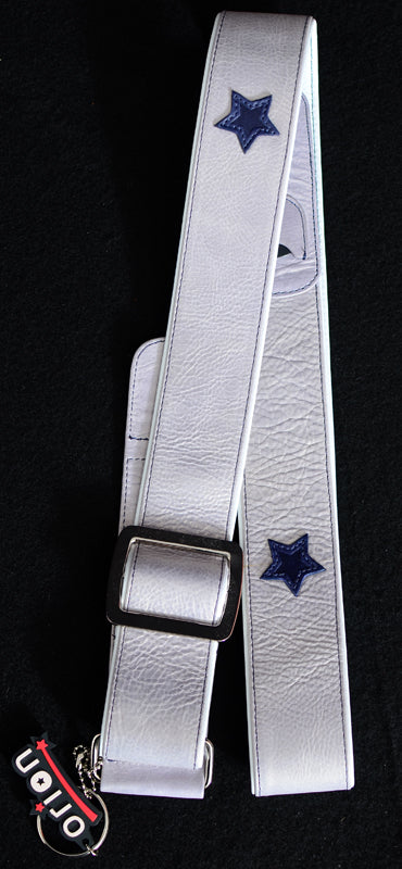 Orion Moonlight Leather Guitar strap-Accessories-Brian's Guitars