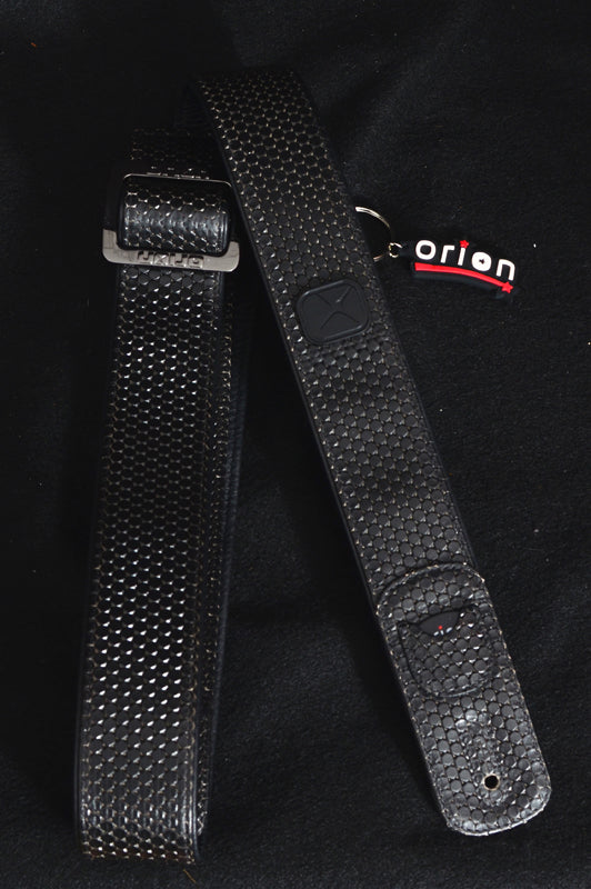 Orion Racer Leather Guitar Strap-Accessories-Brian's Guitars