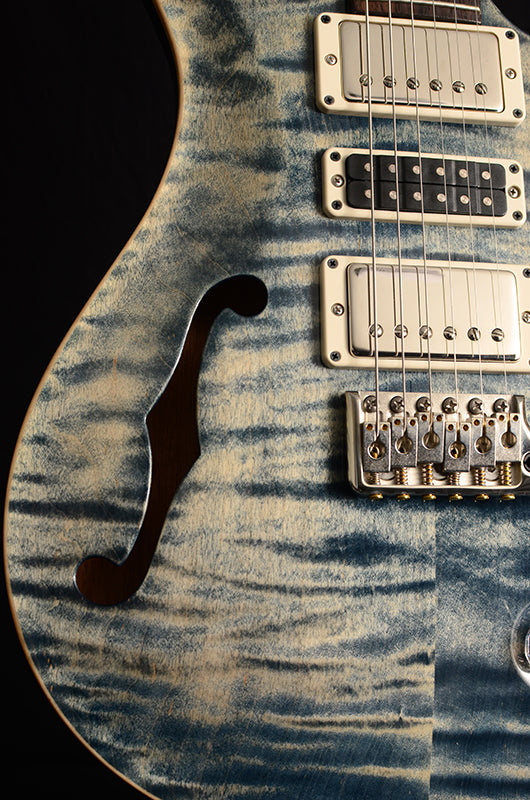 Paul Reed Smith Special Semi-Hollow Limited Faded Whale Blue-Brian's Guitars