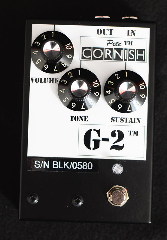 Used Pete Cornish G-2 Distortion-Brian's Guitars