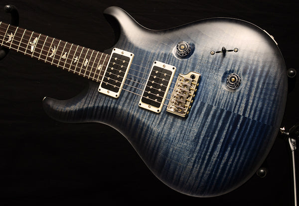 Paul Reed Smith Custom 24 Thin Satin Nitro Faded Whale Blue Burst-Electric Guitars-Brian's Guitars