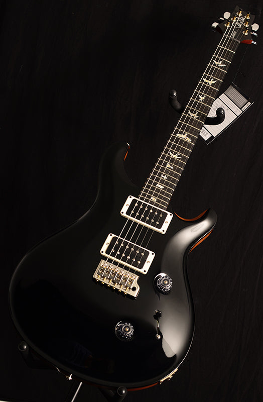 Paul Reed Smith Custom 24 Black With Natural Back-Electric Guitars-Brian's Guitars