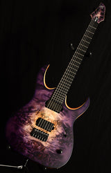 Mayones Duvell Elite 6 Natural To Purple Burst-Brian's Guitars