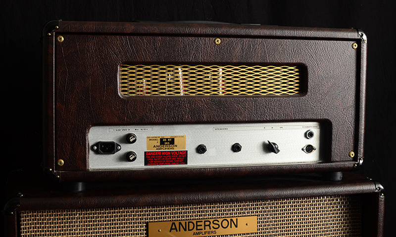 Used Anderson Amplifiers 45RT Head And 2x12 Cabinet-Amplification-Brian's Guitars