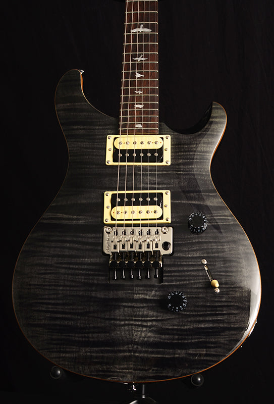 Paul Reed Smith SE Custom 24 Floyd Gray Black-Electric Guitars-Brian's Guitars