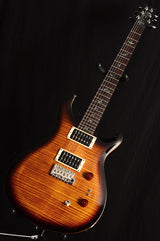 Paul Reed Smith 35th Anniversary SE Custom 24 Black Gold Burst-Electric Guitars-Brian's Guitars