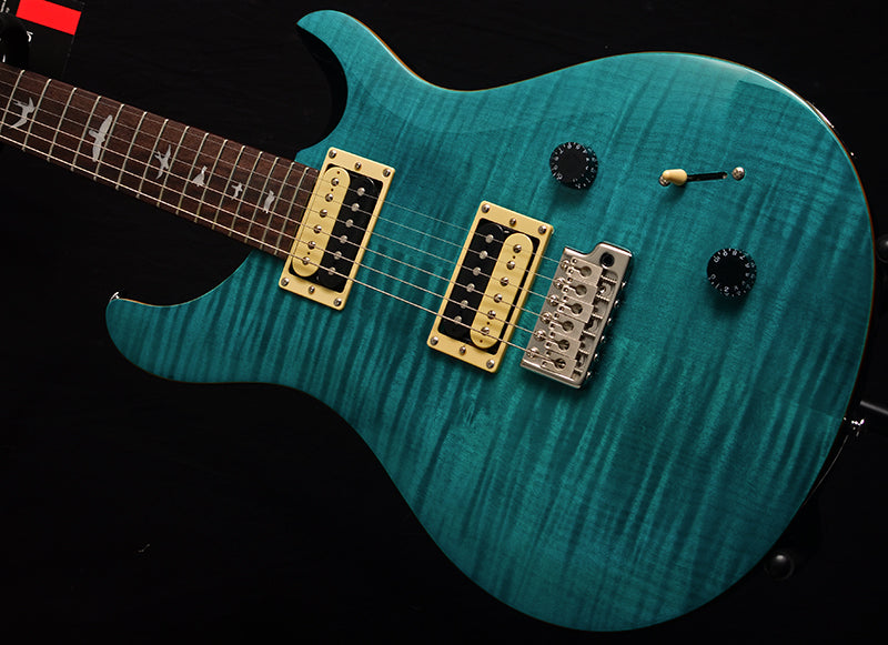Paul Reed Smith SE Custom 22 Sapphire Blue-Electric Guitars-Brian's Guitars