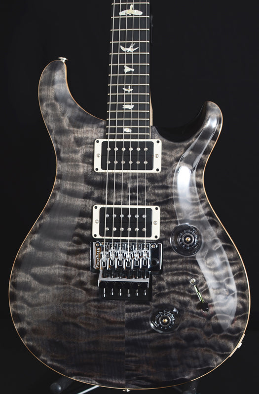 Used Paul Reed Smith Floyd Custom 24 Faded Gray Black-Brian's Guitars