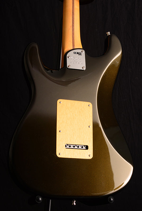Fender American Ultra Stratocaster HSS Texas Tea-Electric Guitars-Brian's Guitars