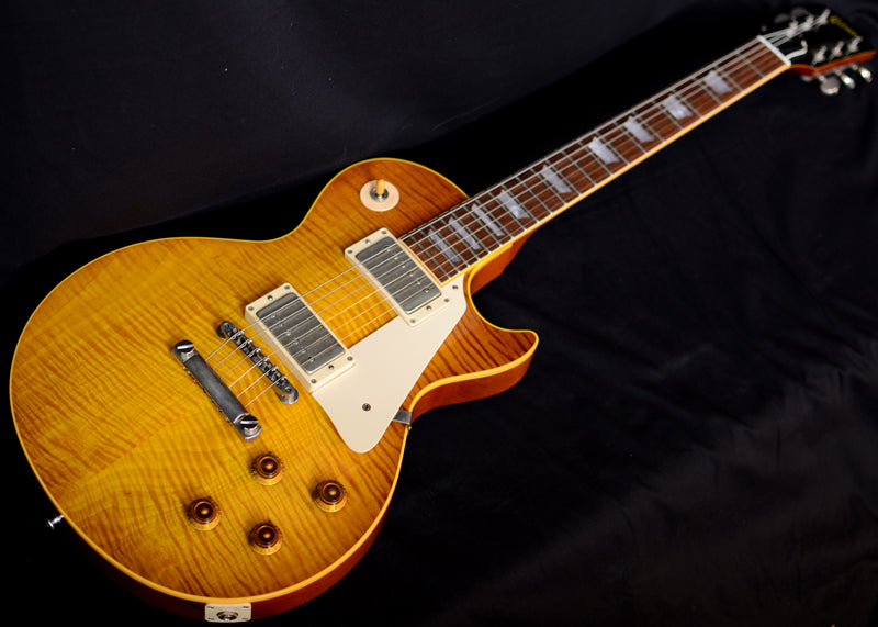 Used Gibson Custom 1958 Reissue Les Paul Flame Top-Brian's Guitars