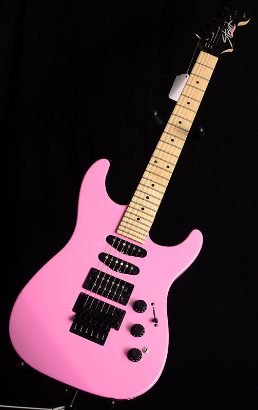 Used Fender Limited Edition HM Strat Flash Pink-Electric Guitars-Brian's Guitars