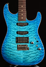 Tom Anderson Drop Top Bora Trans Blue Burst-Brian's Guitars