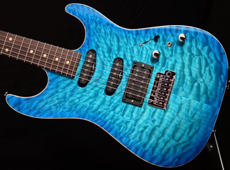 Tom Anderson Drop Top Bora Trans Blue Burst