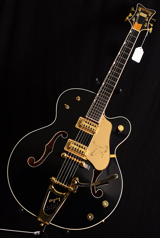 Used Gretsch G6136T Vintage Select Black Falcon-Electric Guitars-Brian's Guitars