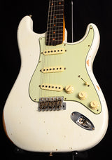 Used Fender Custom Shop 1960 Relic Stratocaster Aged Olympic White