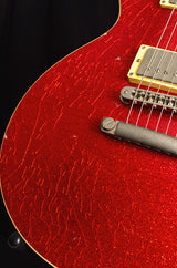 Nash NGLP 60's Les Paul Conversion Red Sparkle-Brian's Guitars