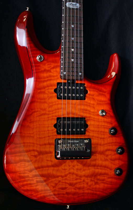 Used Music Man Ball Family Reserve John Petrucci 6 Cherry Burst-Brian's Guitars