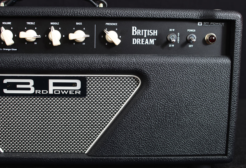 Used 3rd Power British Dream MKI Head-Brian's Guitars
