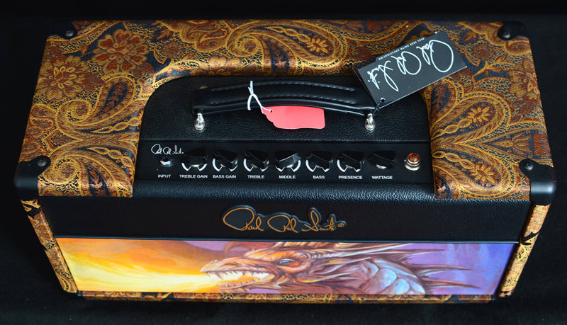 Paul Reed Smith 25th Anniversary Dragon Panel 2015 Tweaks-Brian's Guitars