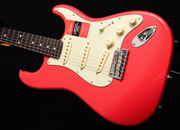 Fender American Professional Stratocaster Rosewood Neck Limited Fiesta Red