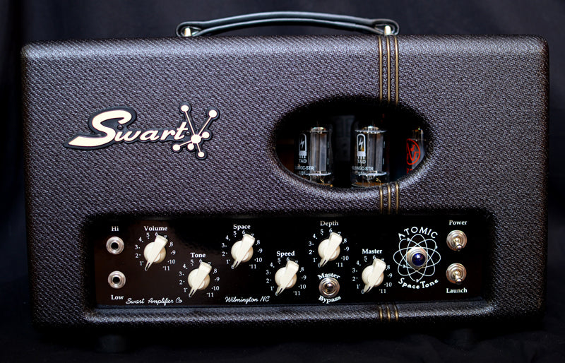 Swart Atomic Space Tone MK II Head Dark Tweed-Brian's Guitars