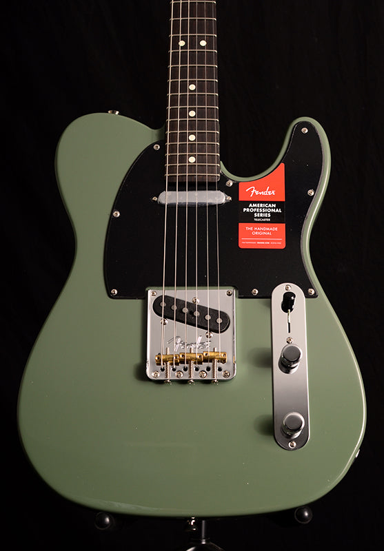 Fender American Professional Telecaster Rosewood Neck Limited Edition Olive