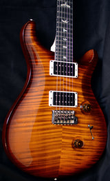 Paul Reed Smith Custom 24 Maple Neck Limited Violin Amber Sunburst-Brian's Guitars