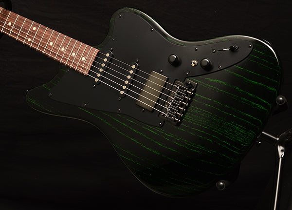 Tom Anderson Raven Classic Black With Green Dog Hair