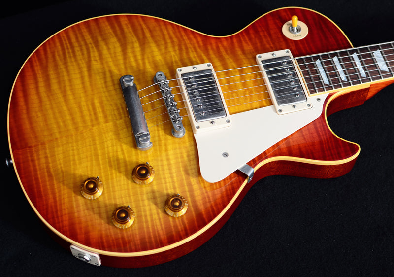 Used Gibson Custom 1959 R9 Reissue Les Paul Flame Top-Brian's Guitars
