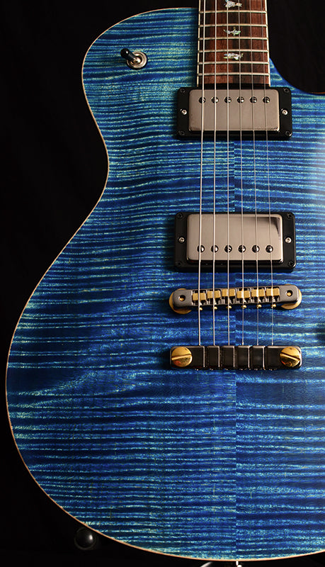 Paul Reed Smith Wood Library McCarty Singlecut 594 Satin Brian's Limited River Blue-Brian's Guitars