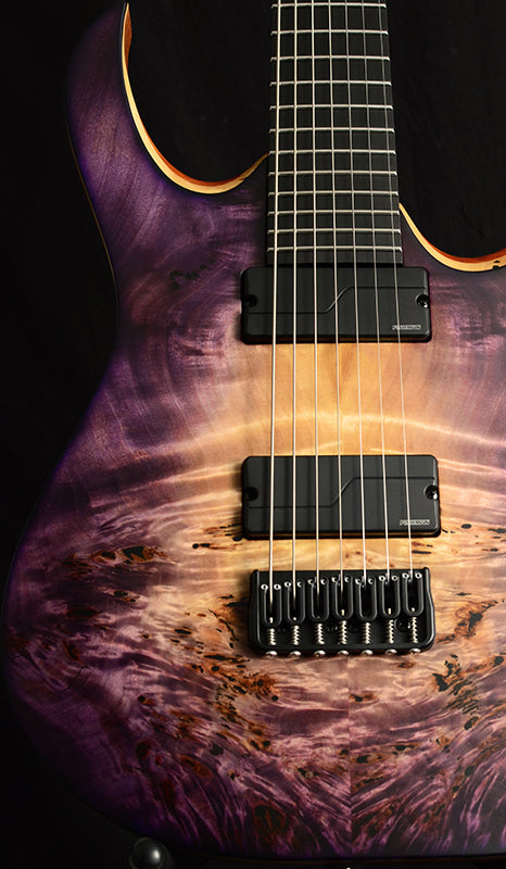 Mayones Duvell Elite 7 Natural To Purple Burst-Brian's Guitars