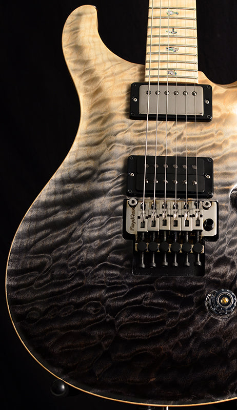 Paul Reed Smith Wood Library Custom 24 Floyd Brian's Limited Gray Black Fade