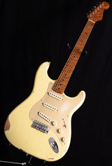 Used Fender Custom Shop 1957 Roasted Relic Stratocaster Aged Vintage White-Brian's Guitars
