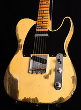 Used Fender Custom Shop 1952 Heavy Relic Telecaster Nocaster Blonde-Brian's Guitars