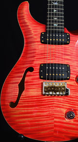 Paul Reed Smith Wood Library 408 Semi-Hollow Blood Orange-Brian's Guitars