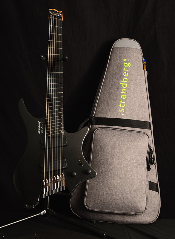 Used Strandberg Boden Metal 8 Black Pearl-Brian's Guitars
