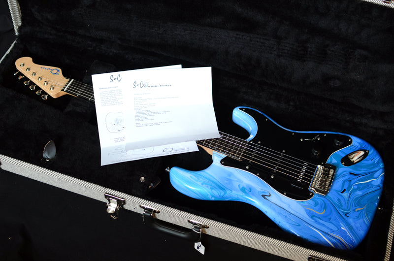 Used Thorn SoCal R/S Ocean Swirl-Brian's Guitars